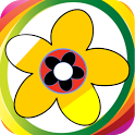 Color Me Flowers-Kids Fun Game icon