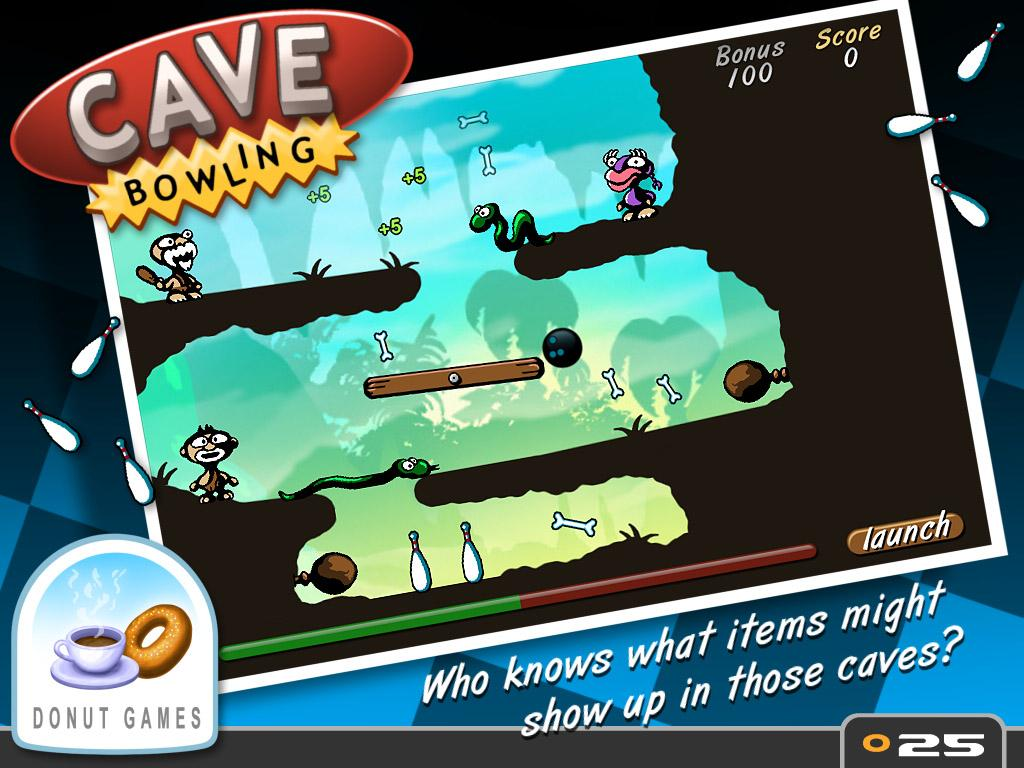 Cave Bowling- screenshot