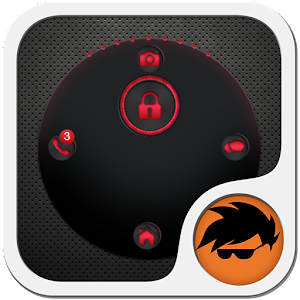 GO Locker Theme Red Tech