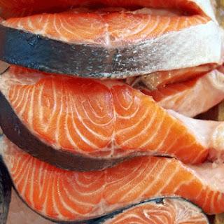 Spicy Salmon Steaks
