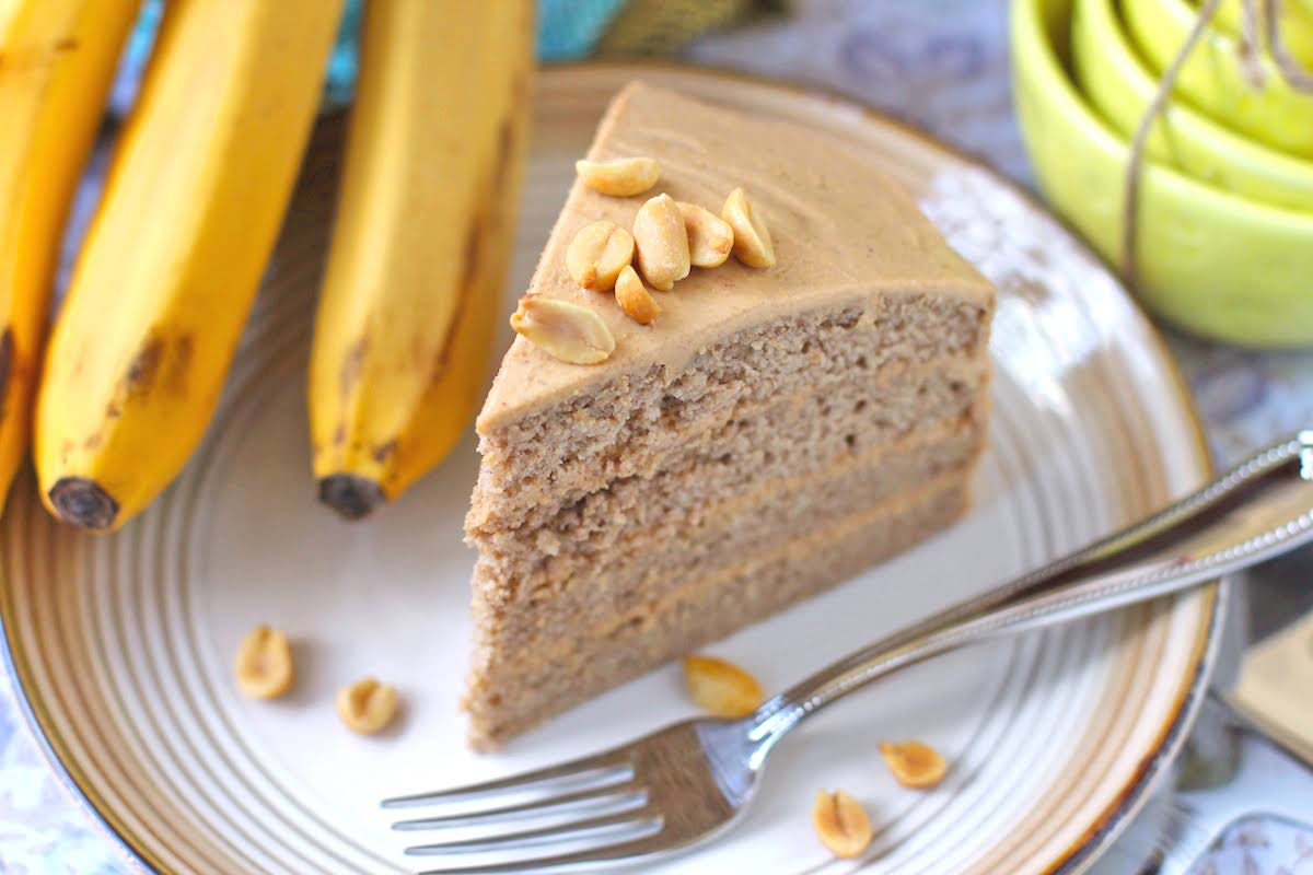 Low Fat Celebration Cake Recipes: 10 Best Healthy Low Fat Banana Cake Recipes