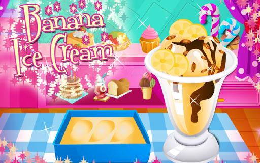Banana Ice Cream Cooking Games