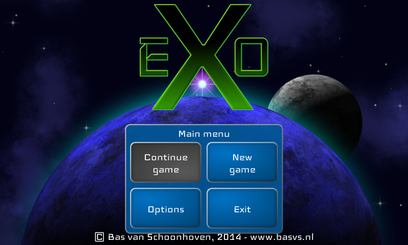 eXo space strategy- screenshot