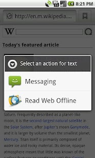 Read Web Offline - screenshot thumbnail