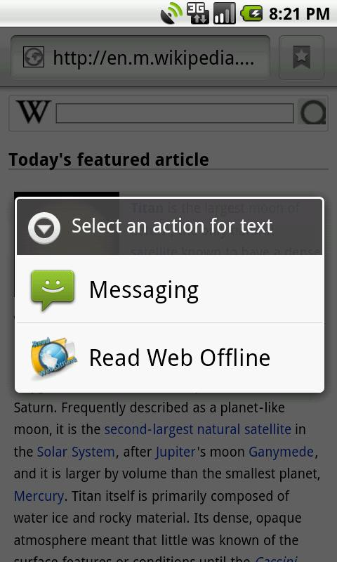Read Web Offline - screenshot