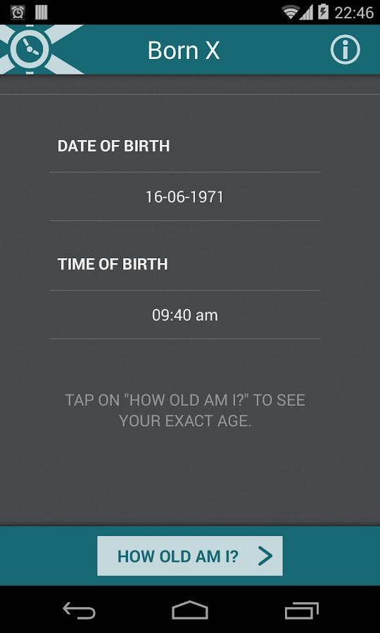 Born X - How old am I? - screenshot