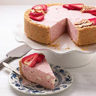 Strawberries and Cream Semifreddo.