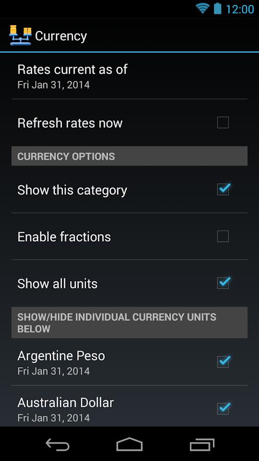 Convertor Pro - screenshot