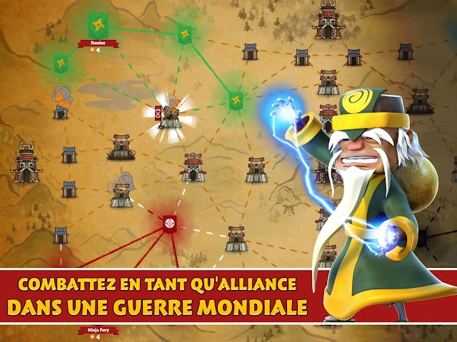android Samurai Siege: Alliance Wars Screenshot 4