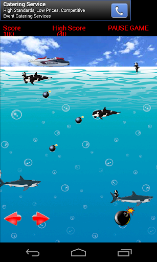 Sharks And Whales Attack