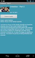 Screenshot of Focus on the Family Australia