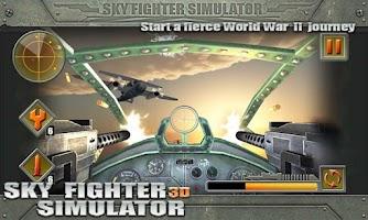 Screenshot of 3D Sky Fighter Simulator