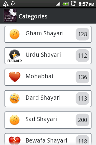Sad Shayri Collection