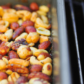 Smoked and Spiced Nuts.