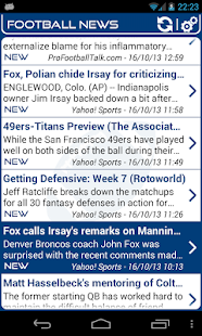Indianapolis Football News- screenshot thumbnail