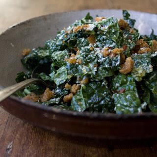 Raw Tuscan Kale Salad.