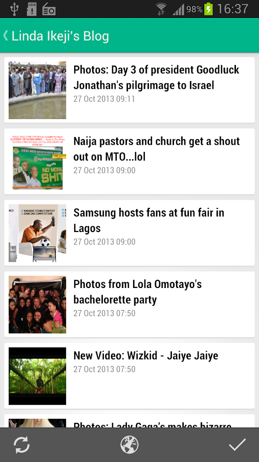 Nigerian News | Music - screenshot