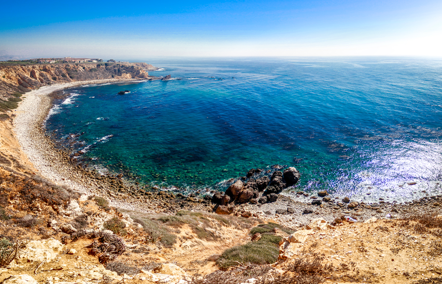 PCH S. California by Chris Stevens - Landscapes Waterscapes ( pch, composite image., waterscape, california, panorama )