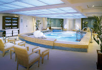 Canyon Ranch Spa on Queen Mary 2.
