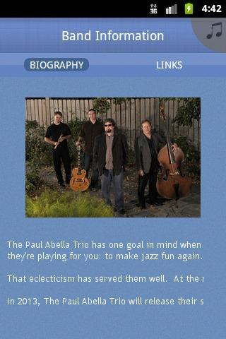 The Paul Abella Trio - screenshot