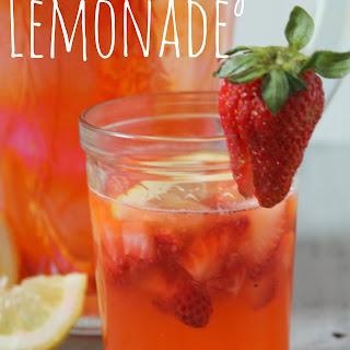 Rainforest Cafe Copycat Strawberry Lemonade.
