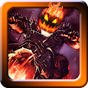 Halloween Bike rider game