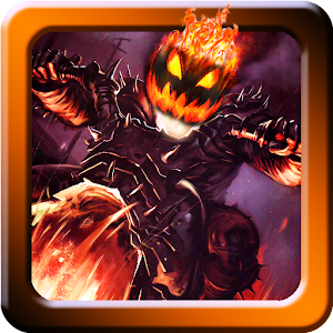 Halloween Bike rider game for PC and MAC