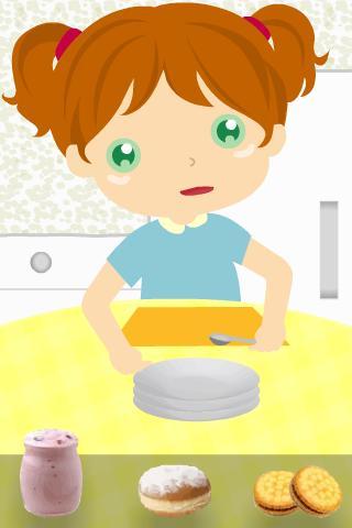 Essen Lernspiel Kinder - screenshot