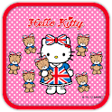 Hello Kitty CuteBabyBear Theme icon