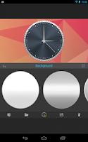 Screenshot of ClockWurkx Analog Clock Widget