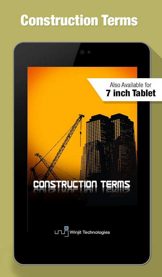 Construction terms android apps on google play for Building terms with pictures