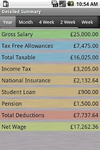 PAYE Tax Calculator (Free) - screenshot thumbnail