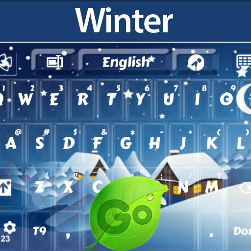 冬季键盘 個人化 LOGO-阿達玩APP