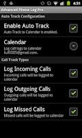 Screenshot of Advanced Phone Log