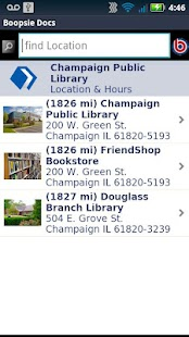 Champaign Public Library- screenshot thumbnail