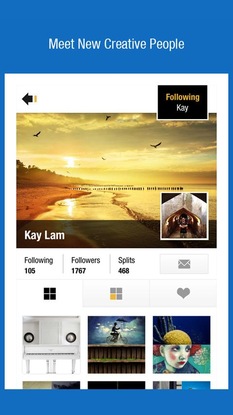 Pixplit - Social Photos & Chat - screenshot