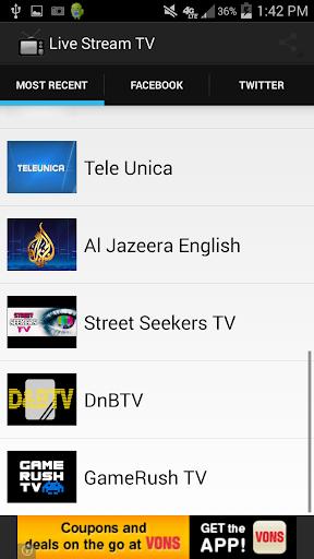TV Live Stream TV
