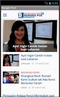 Screenshot of Bangka Post