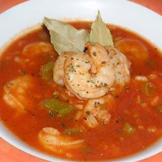 Big Ed's Cajun Shrimp Soup.