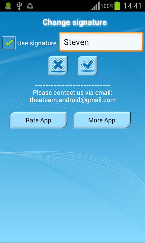 Art Text - Symbol Sms- screenshot