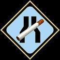 Smoking reduction icon