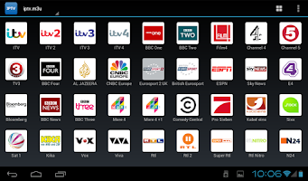 Screenshot of IPTV