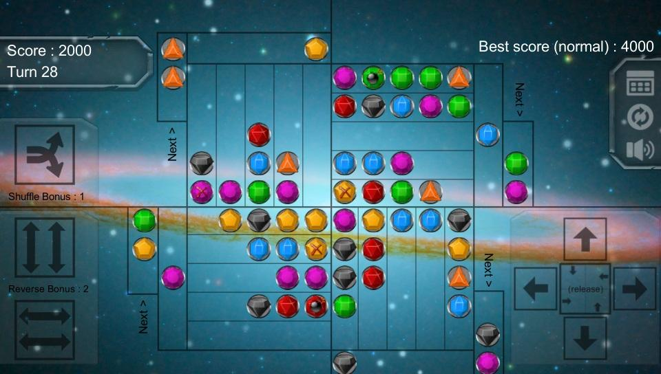 Gravity Match-3 - MATCH 3 JEWEL PUZZLE GAME- screenshot