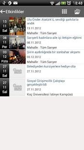 Sarıyer Belediyesi - screenshot thumbnail