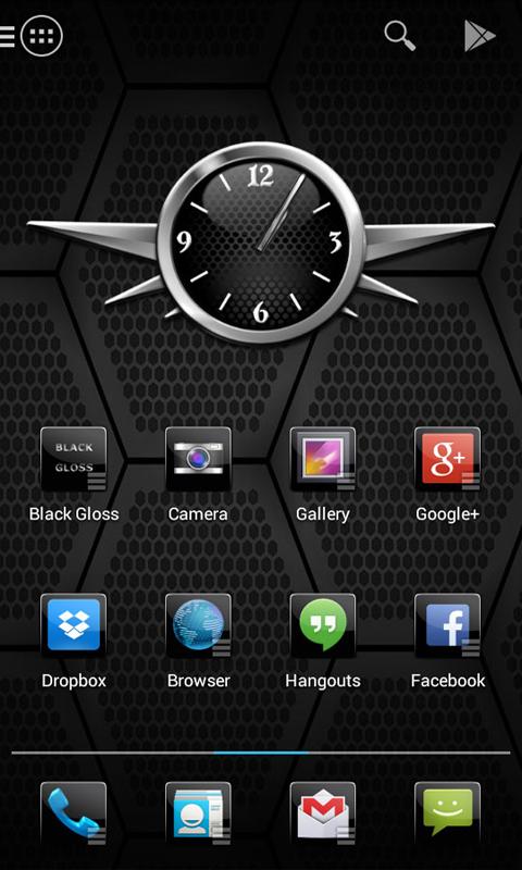 Black Gloss Multi Theme - screenshot