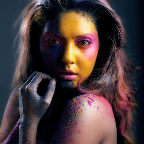 beastly by Norman Fotograf - People Portraits of Women ( potrait, holycolours, bizarre )