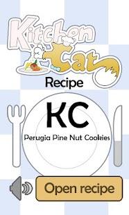 KC Perugia Pine Nut Cookies - screenshot thumbnail