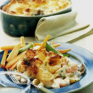 Fish And Mushroom Pie