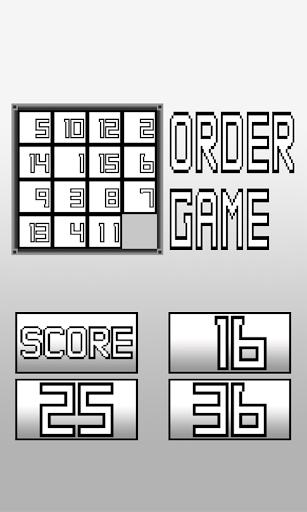 Order Game