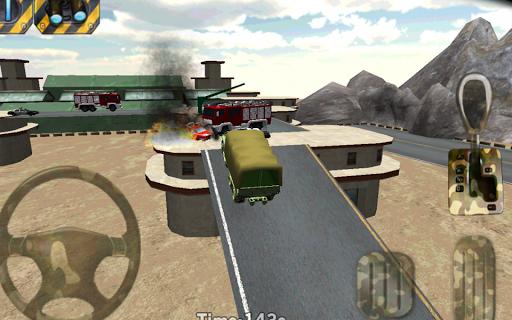 駐車3D - 陸軍駐車戦争